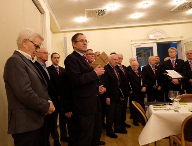 85. Geburtstag von Ehrenvorstand Günther Kull