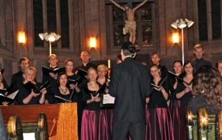 Konzert im Rahmen des 4. Internationalen Chorfestivals Baden in der ev. Klosterkirche