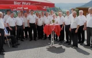 Sängerausflug am 8. Juni 2013 nach Sulzbach im Odenwald