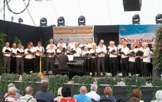 Chorverband Enz gastiert auf der Gartenschau beim Tag der Chormusik