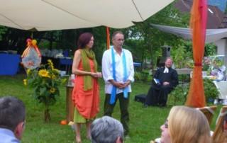 Hochzeit von Annette und Helmut